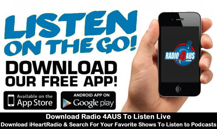 Download the Radio 4AUS App